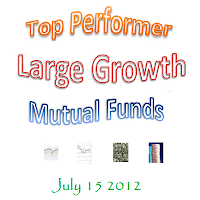 Top Performer Large Growth Mutual Funds of 2012 logo