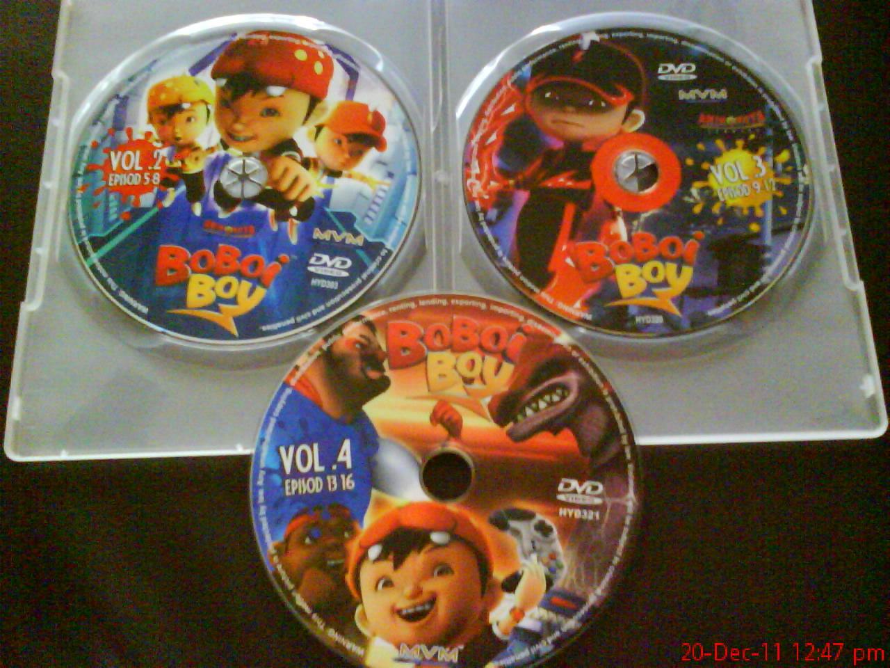 So far ada 3 jek koleksi cd yang kami punya...yang pes tu jek takde