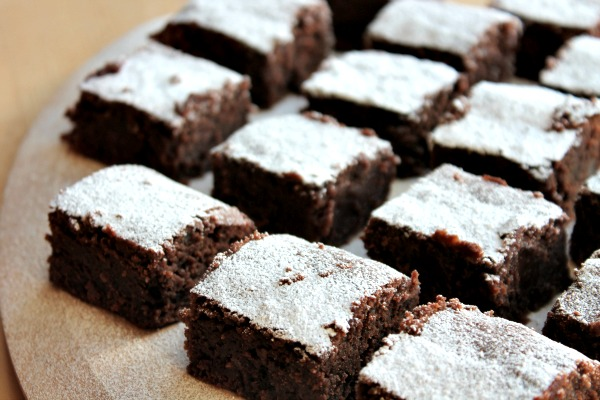 Chocolate and Chestnut Squares