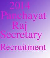 Panchayat Raj Secretary Vacancies  AP  2014