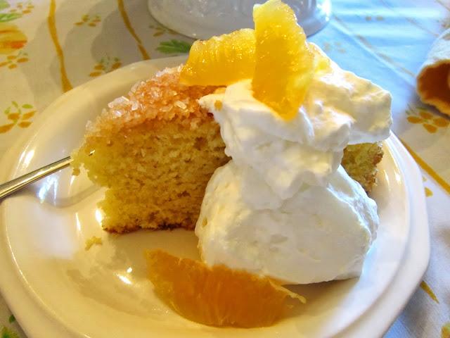 The Italian Next Door: Orange Cornmeal Cake