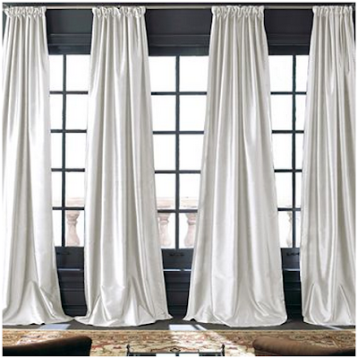 LALs on Clearance: Restoration Hardware Hand-Loomed Thai Silk ...