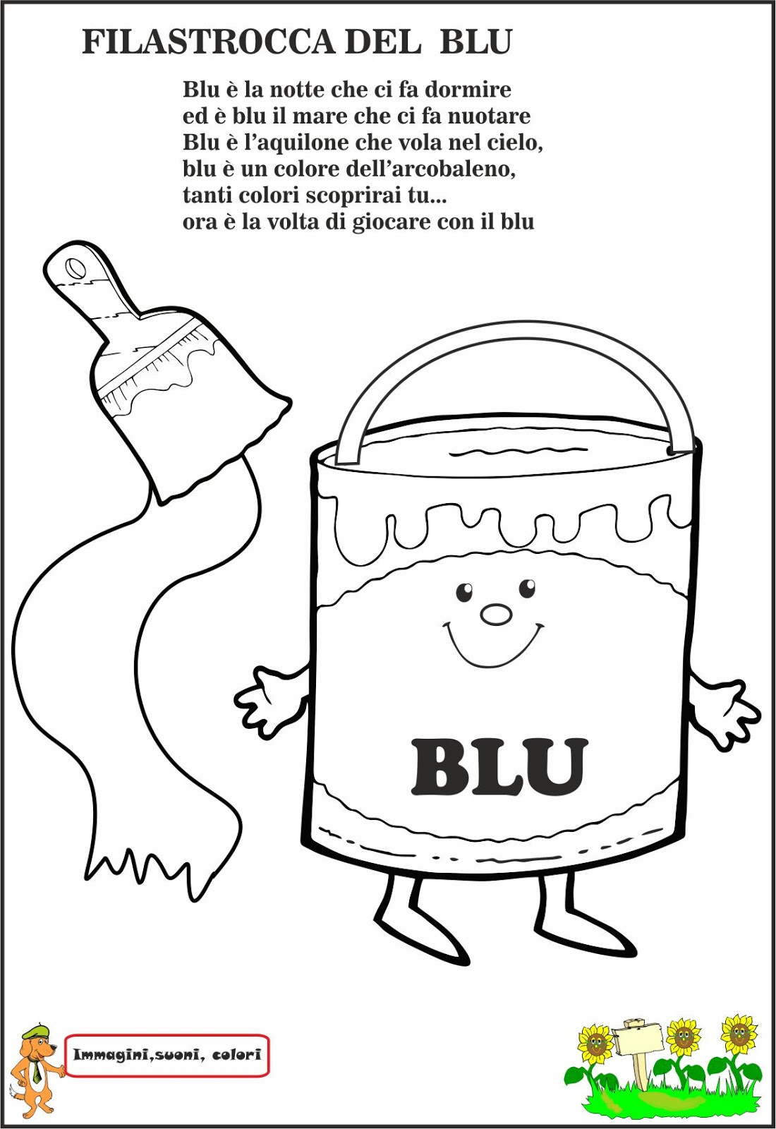 Très A Scuola con Poldo: Il Blu ZN91