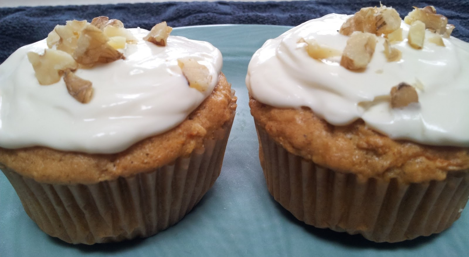 ... 1885™: healthy carrot cake cupcakes with maple-cream cheese frosting