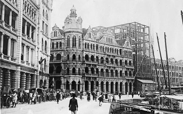 Oficina de Correos Hong Kong 1890
