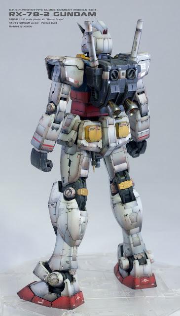 MG RX-78-2 Gundam ver.3.0 bandai model kit