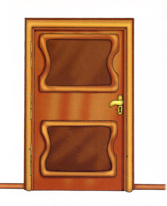 Vocabulario familiar en preescolar objetos de la casa - Letras infantiles para puertas ...