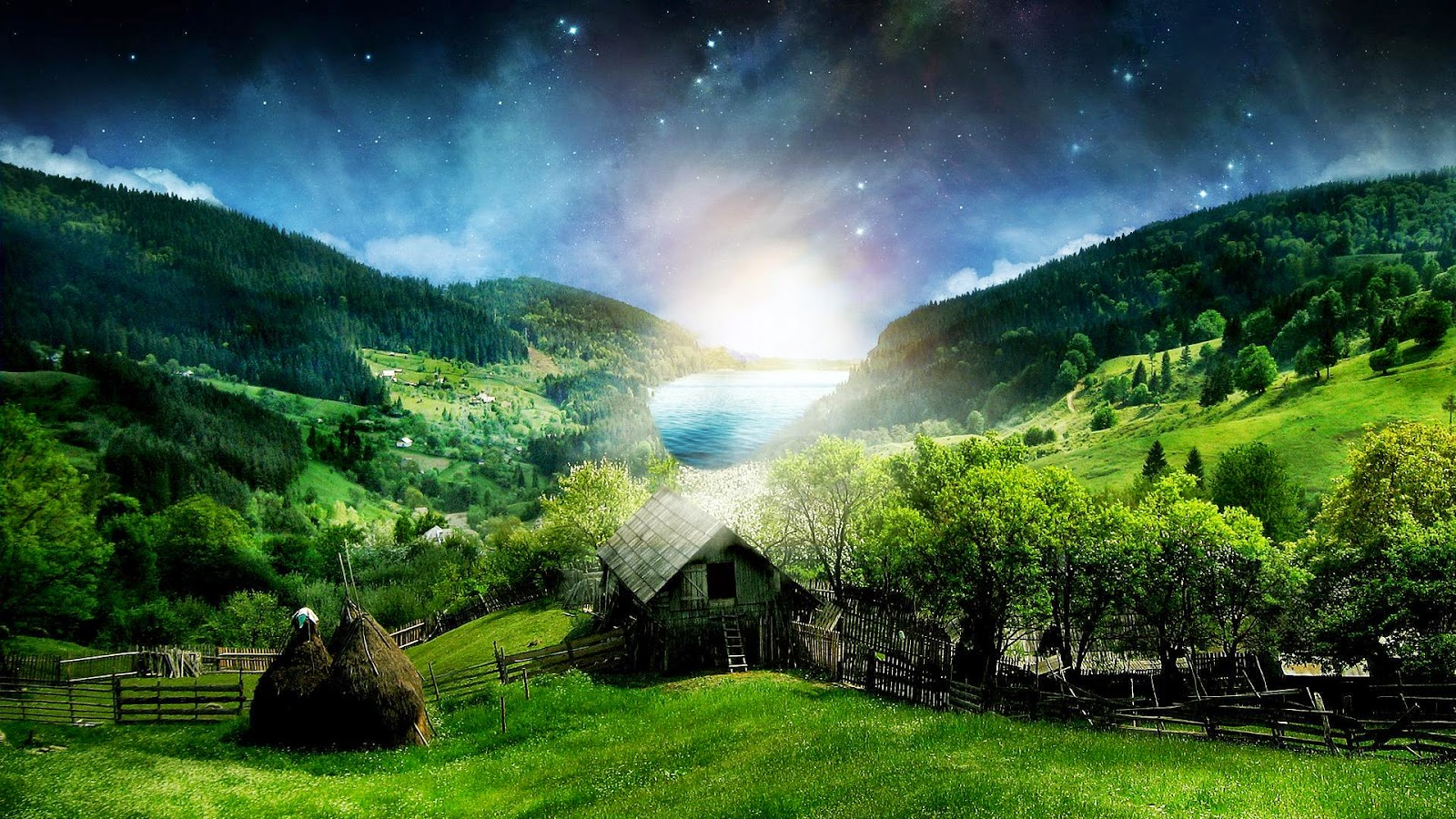 3D Beautiful Nature Wallpaper