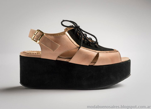 Zapatos Lomm 2014. Sandalias y Chatas Moda 2014.