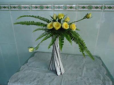 Hoa để bàn làm việc 02