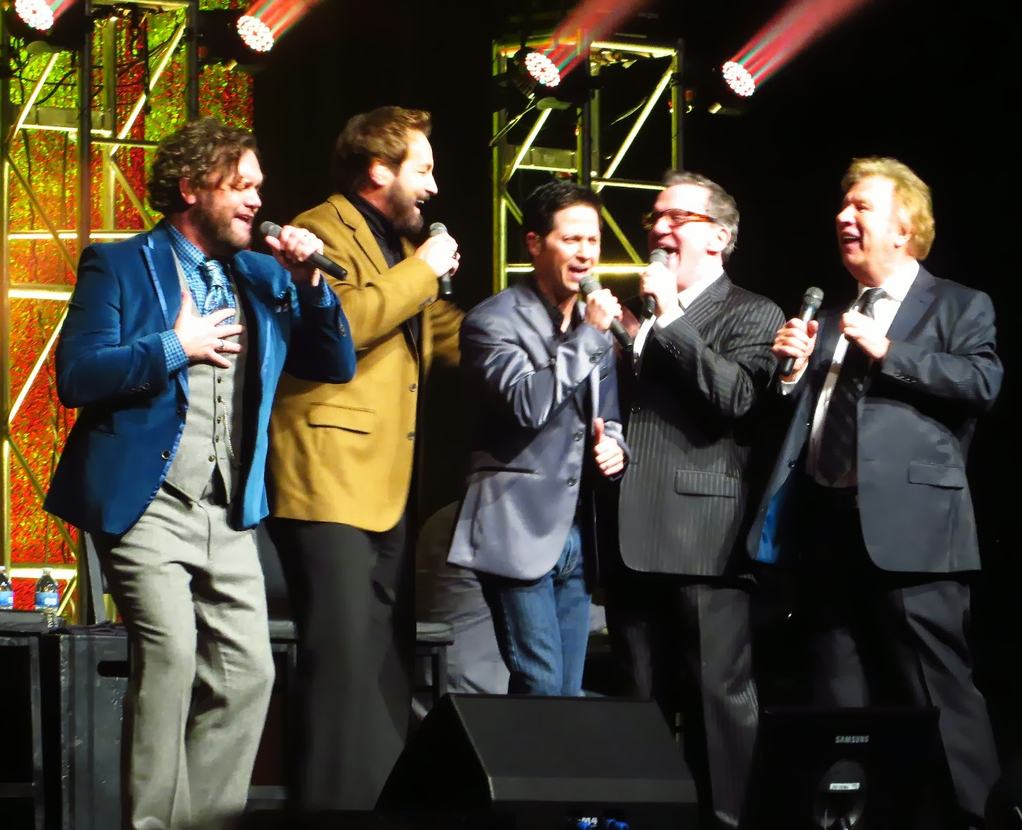 Gaither Vocal Band - Hymns (2014) live performance on stage