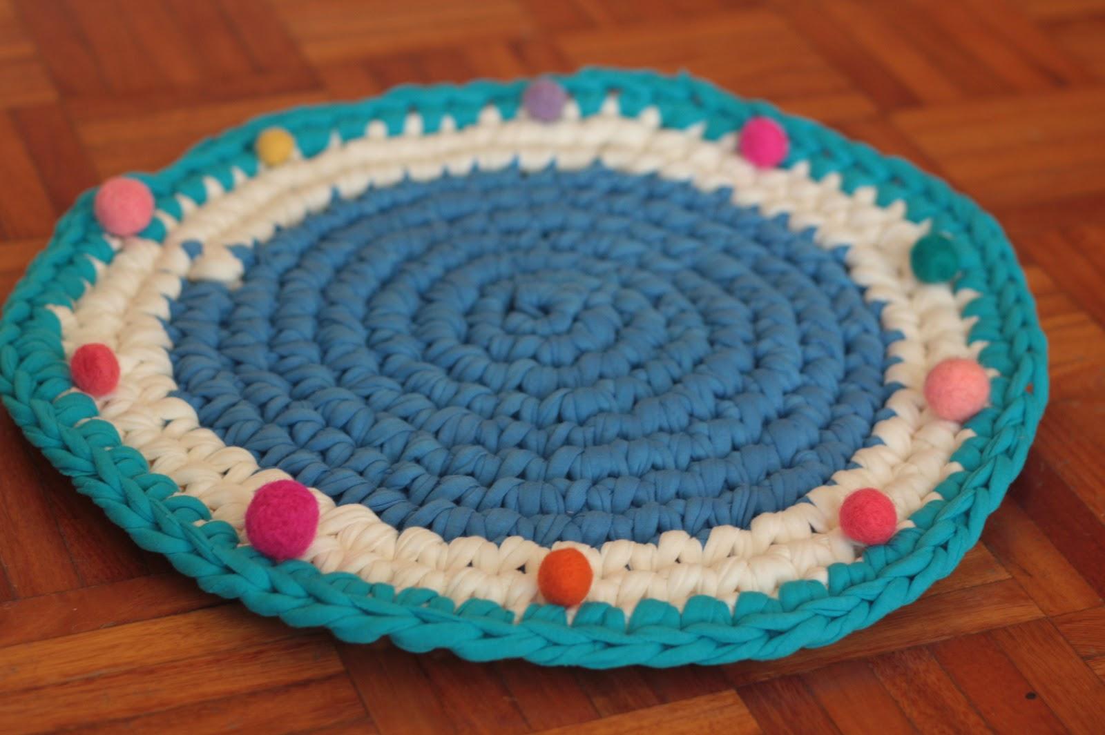 Proyecto tejer una alfombra pepita for Tejidos de alfombras