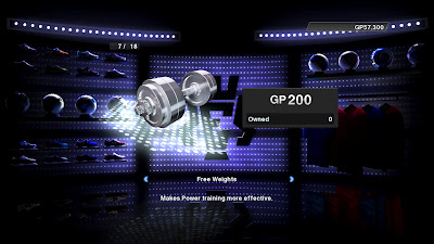 PES 2013: Football Life - free weights