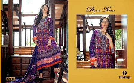 Latest Firdous Collection 2014