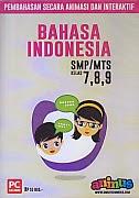 toko buku rahma: buku CD PEMBELAJARAN SMARTEDU SMP/MTS  BAHASA INDONESIA Kelas 7,8,9, pengarang smart edumedia