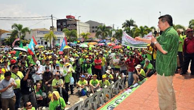 Malaysians protest against Petronas project