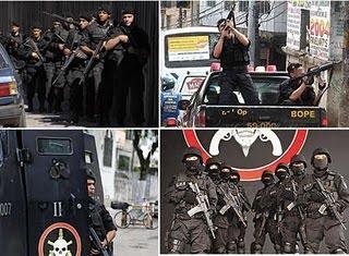 BOPE - Rj - BOPEPOI - Blog informativo sobre Unidades Operacionais Especiais das Policias