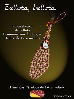 jamones de bellota en Jerez de los Caballeros
