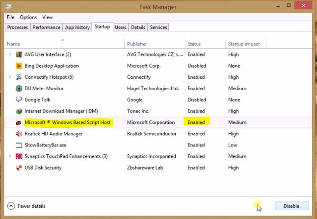 How to remove windows script host virus ccuart Choice Image