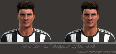PES 2013 Mario Gomez Facepack by baha_dir