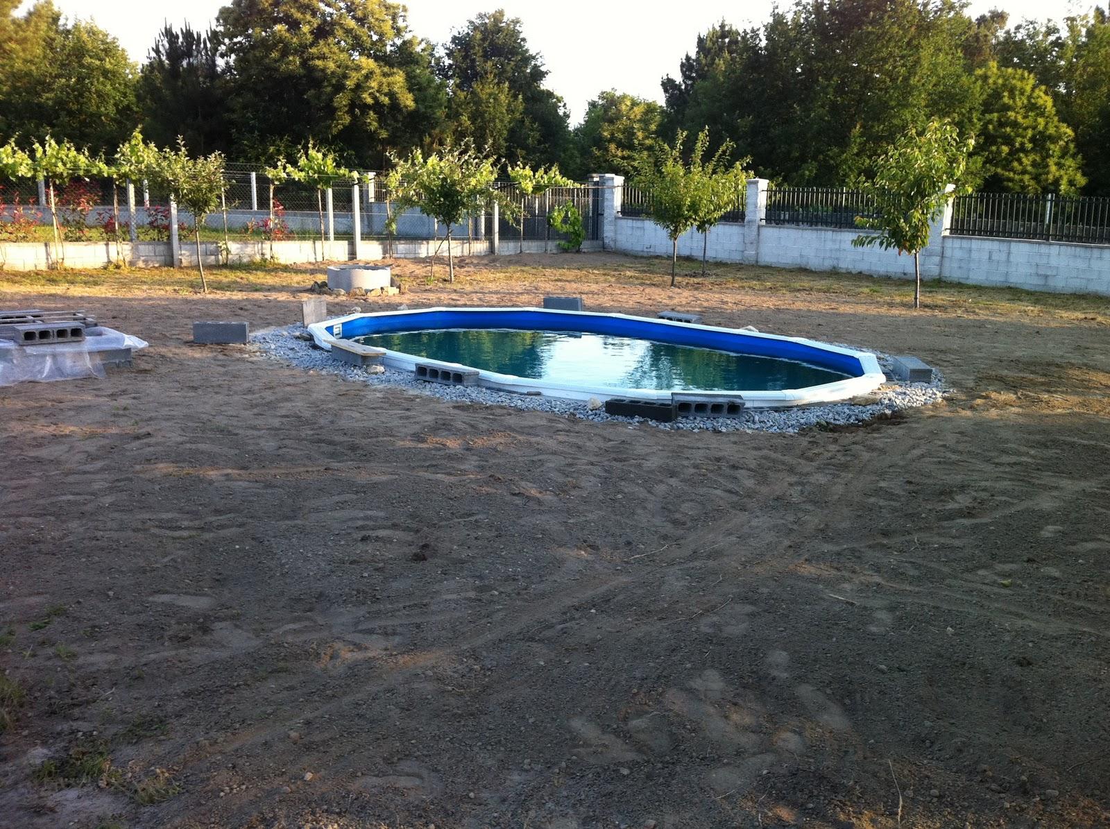 Montaje piscina gre enterrada como montar una piscina gre - Piscinas de montar ...