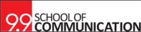 9.9 School of Communication Logo