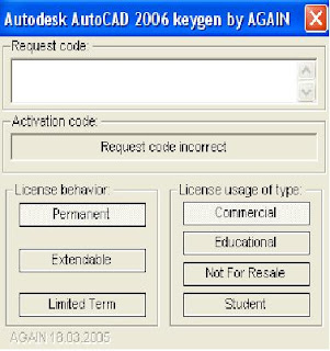... Softwares: Autodesk Autocad 2006 Keygen Activation Code Free Download
