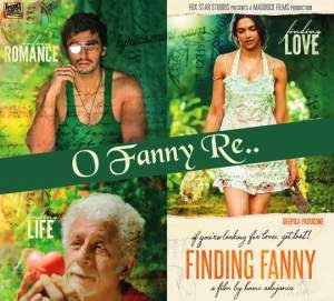 O FANNY RE LYRICS - Finding Fanny Title Song | Arjun, Deepika