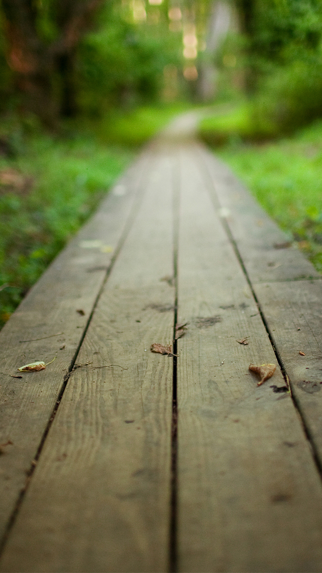 Wooden road iphone 5 wallpaper iphone 5 wallpapers for Wallpaper home iphone 5