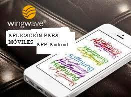 Descarga aplicaciòn Wingwave (español) Android para tu mòvil