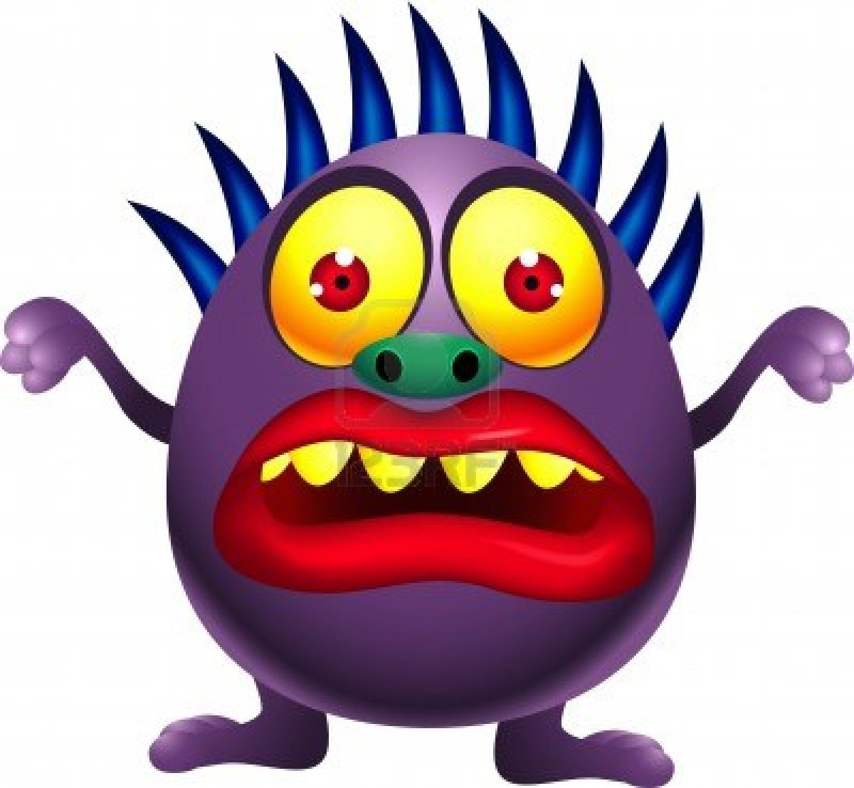 It's just a graphic of Revered Monster Pictures for Kids