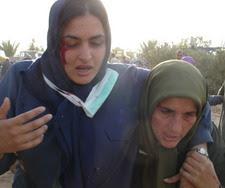 از مجروحان حمله به کمپ اشرف