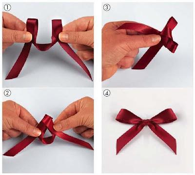 Как сделать бантик из ленты для волос своими руками