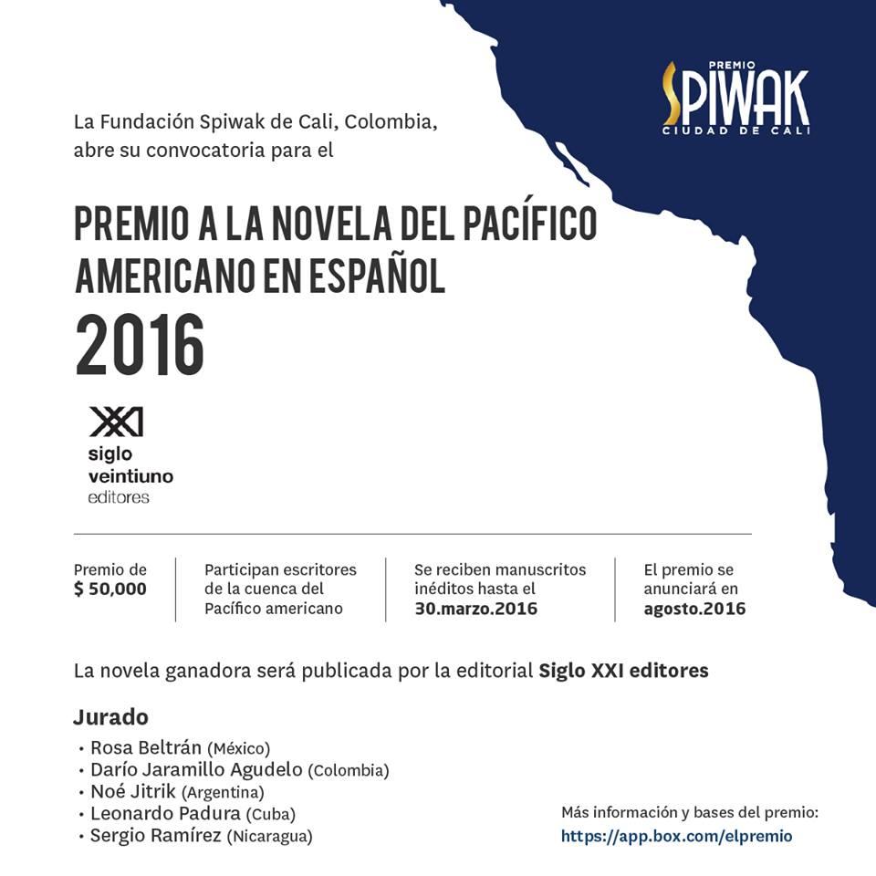 Bases Premio SPIWAK Ciudad de Cali