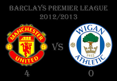 Manchester United vs Wigan Athletic 2012
