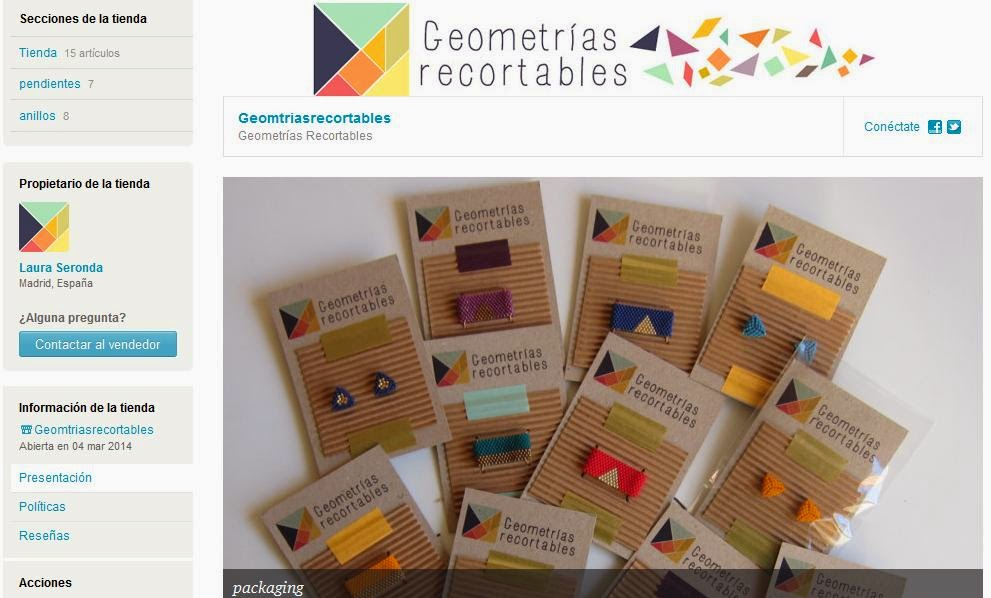 Geometrías Recortables en Etsy