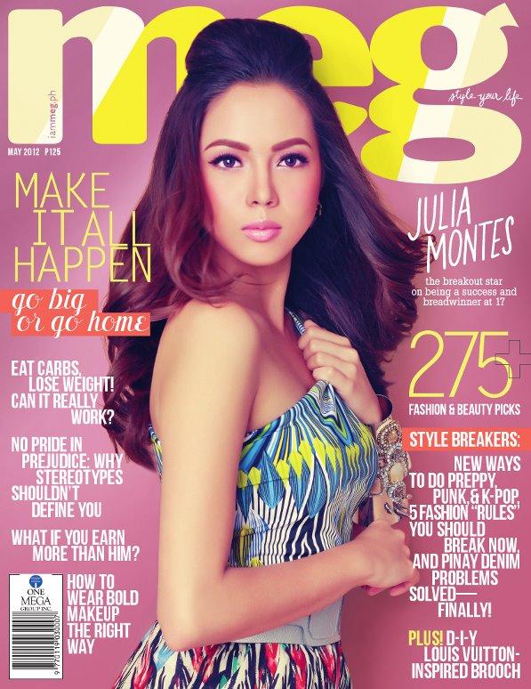 Julia Montes - Meg Magazine (May 2012)