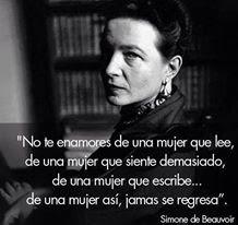 Una gran mujer, una gran escritora.