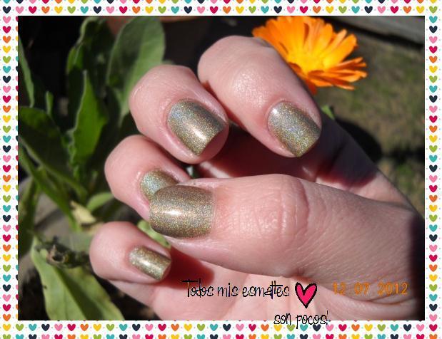 Princess Sabra Holográfico Nailpolish nails uñas esmaltes