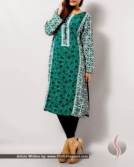 Grapes Lawn Kurti Collection for Spring-Summer 2015-2016