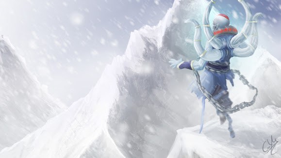 lich dota 2 game hd wallpaper 1366x768