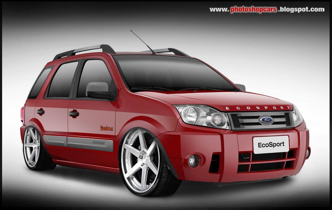 Ford EcoSport DUB rebaixado rodas 20
