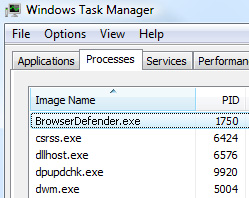 What is BrowserDefender.exe and how to remove it?