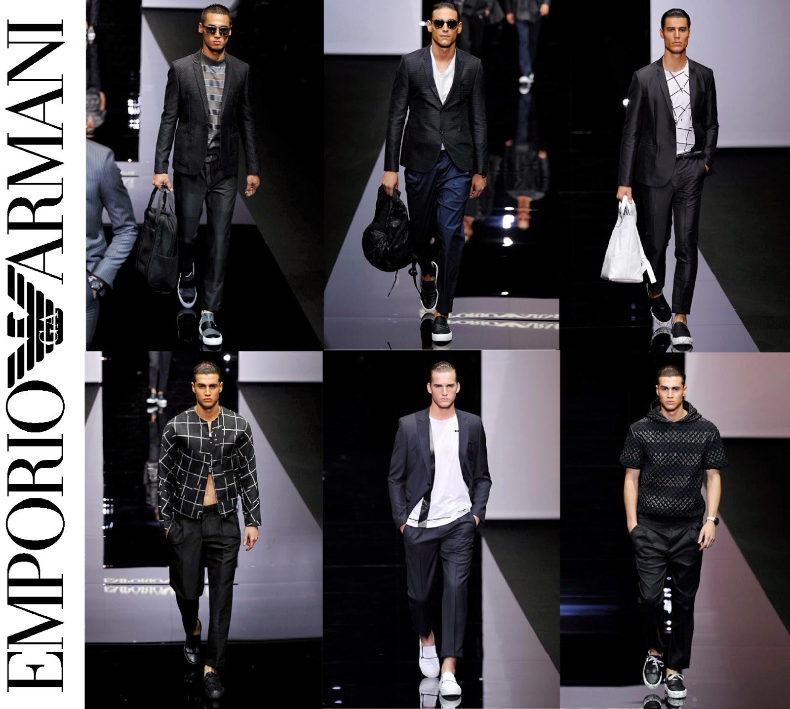 Eniwhere Fashion - Milano Moda Uomo - Primavera Estate 2015 - Emporio Armani