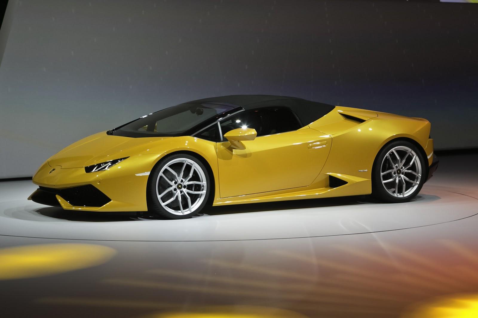 Lamborghini Serves Up Al Fresco Huracan Lp 610 4 Spyder
