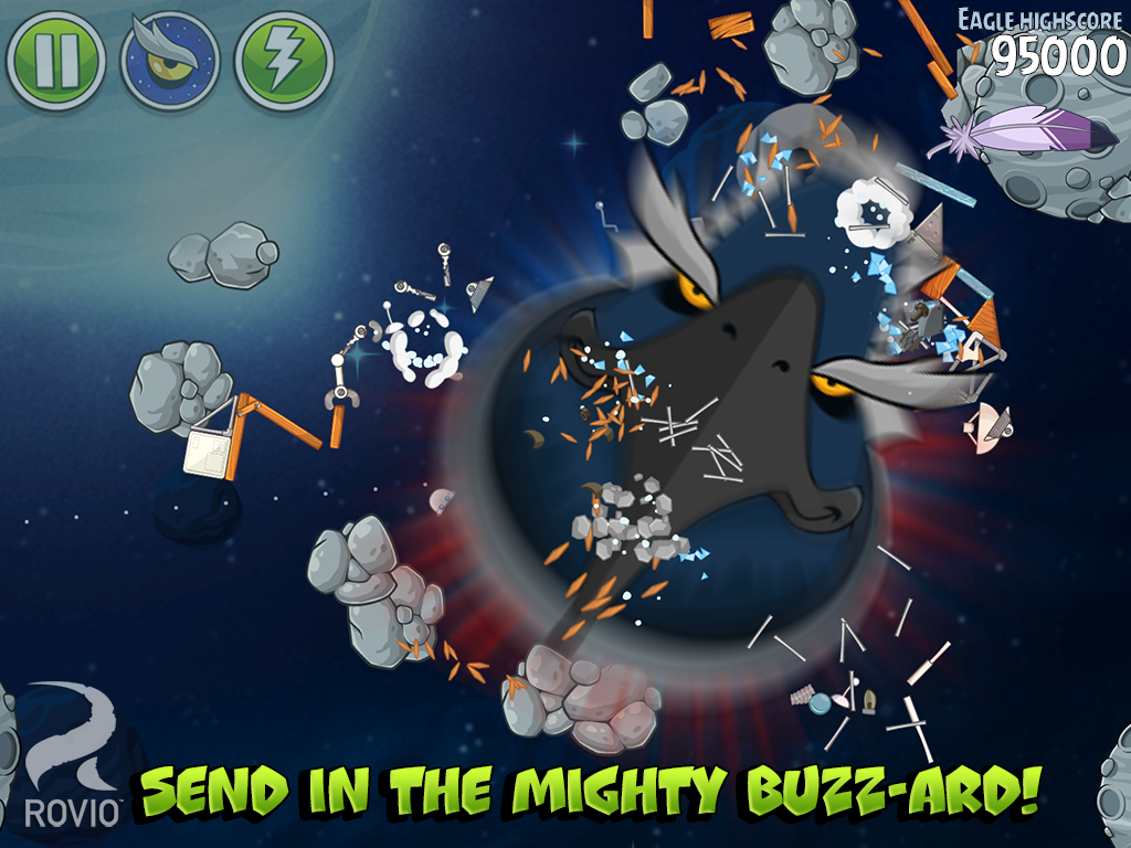Games Angry Birds Space Android Apk Asik - 5