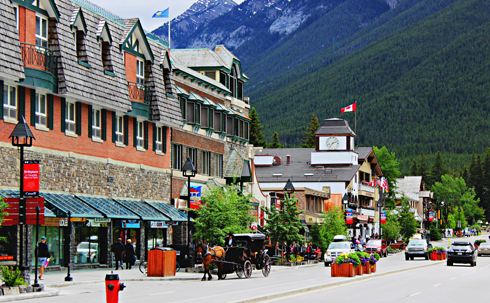 banff alberta rocky mountains travel photography
