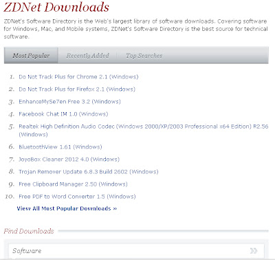free software download photo of site downloads.zdnet.com . foto for free software wallpaper