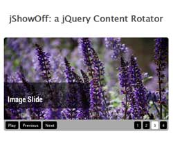 jShowOff: a jQuery Content Rotator plugin