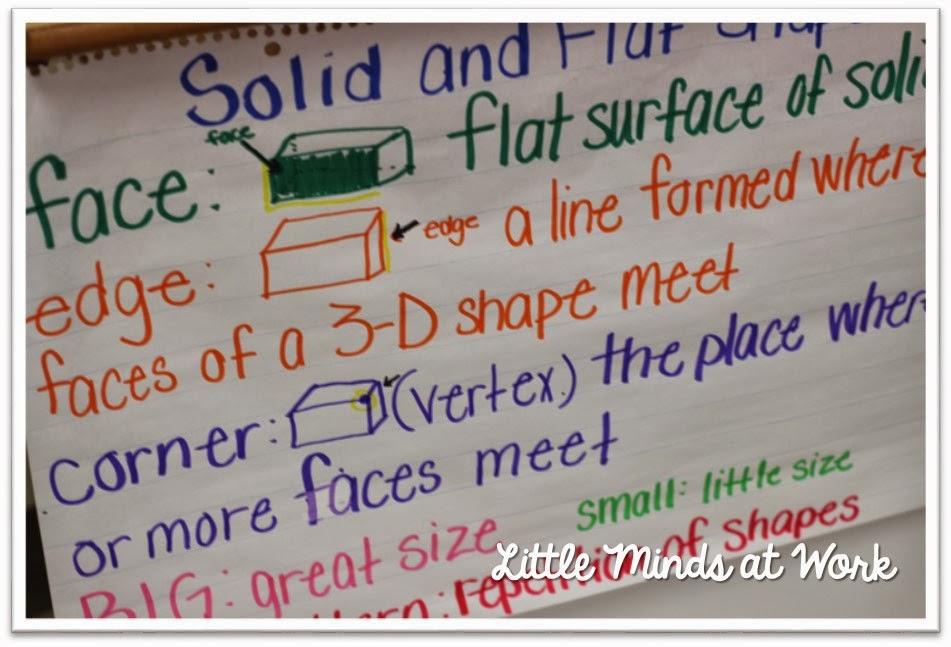 Teaching Shapes in Kindergarten Little Minds at Work – 3d Shapes Kindergarten Worksheets
